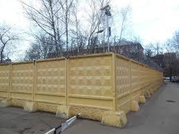 Бетонный забор: виды и характеристики